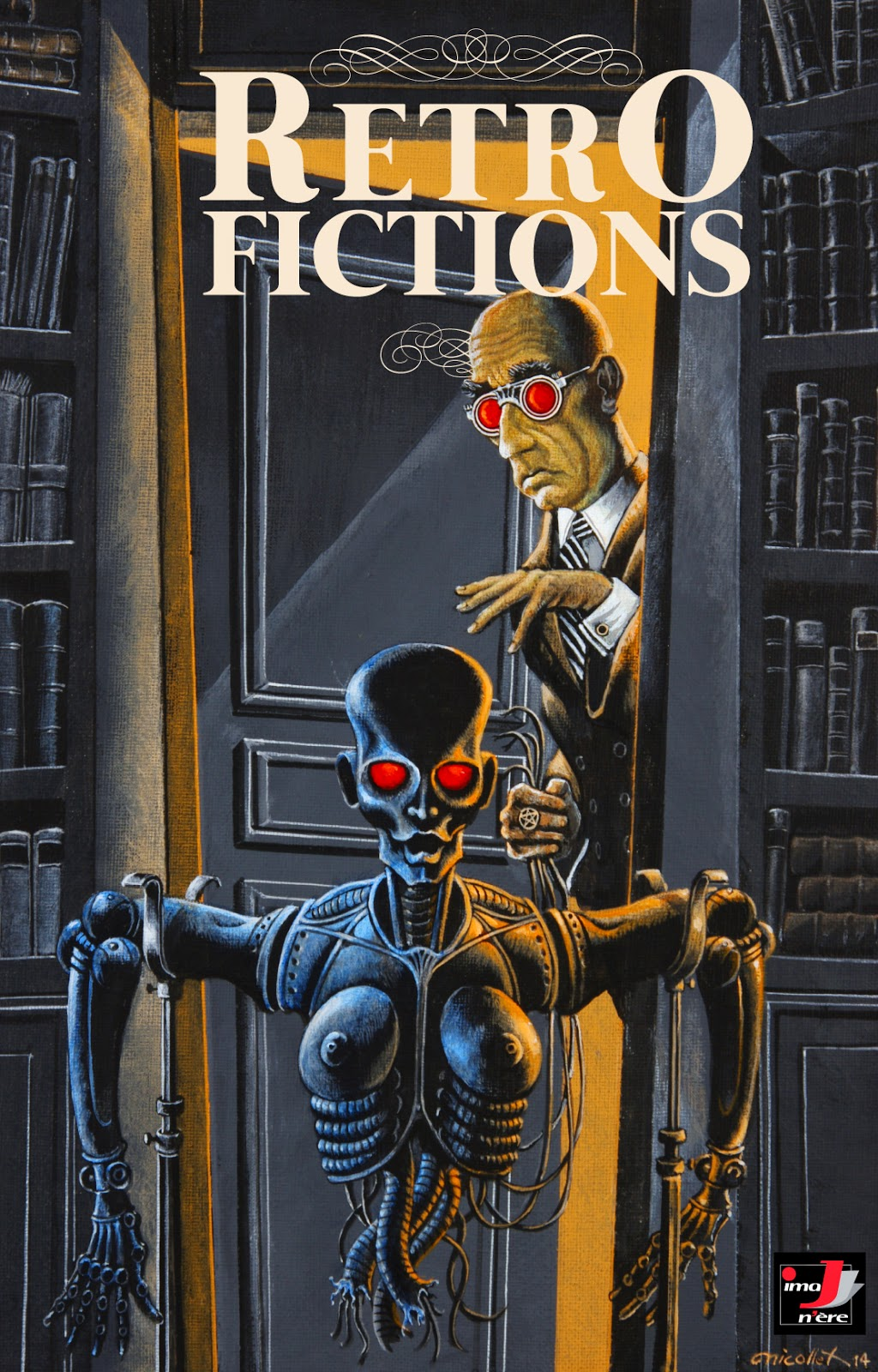 Couverture de Retro-fictions